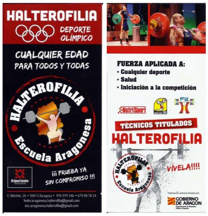 Escuela Federación Aragonesa de Halterofilia