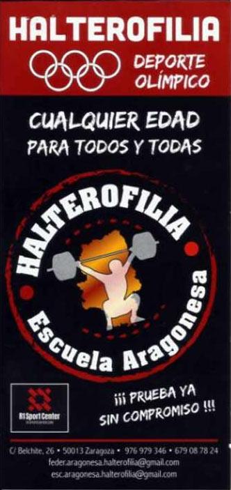 Escuela Aragonesa de Halterofilia