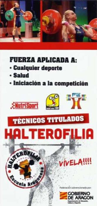 Curso de la Escuela Aragonesa de Halterofilia